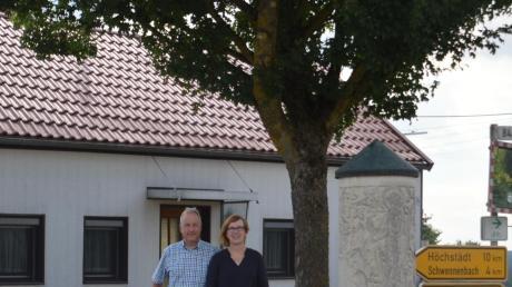 Sabine und Andreas Veh leben in Neustadt an der Weinstraße in der Pfalz. Ihren Sommerurlaub verbringen sie regelmäßig in Oberliezheim im Ferienhaus ihres Cousins.