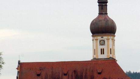 Die Kirche von Schwenningen