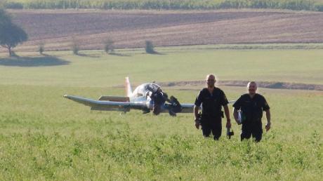 Am Mittwoch musste ein Pilot bei Amerdingen notlanden. Die Polizeiberichtet: keinSchaden und keine Verletzten.