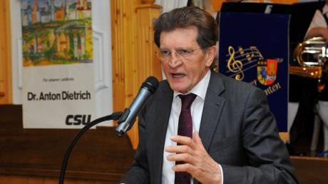 CSU-Landtagsabgeordneter Georg Winter vertritt seit 1990 die Region im Bayerischen Landtag.
