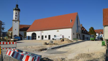 So sah es vergangenen Herbst im Ortszentrum von Bachhagel aus. Bei einem Workshop in Bächingen geht es um die Frage: Wie können sich Dörfer erfolgreich entwickeln?