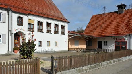 Der Kindergarten in Deisenhofen ist in der Dorfmitte direkt neben der Feuerwehr. Aktuell sind 27 Kinder in der Einrichtung.