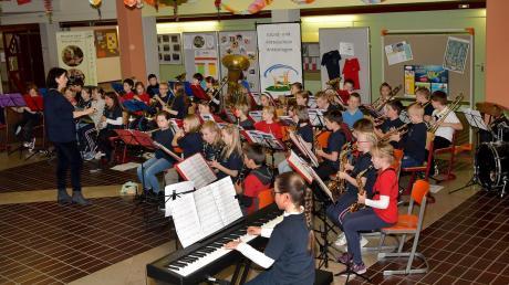 Der Vorspielabend der Bläserklasse der Grund- und Mittelschule Wittislingen war ein großer Erfolg.