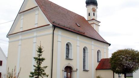 Der Beitrag zur statischen Renovierung der Kirche St. Nikolaus in Wolpertstetten wurde seitens der Gemeinde von 10000 auf 5000 Euro reduziert.