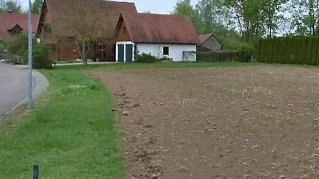 Diese Fläche am Wiesenberg wurde von der Gemeinde Wittislingen für das Einsäen einer mehrjährigen Blumenmischung vorbereitet.