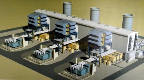 So oder so ähnlich könnte ein Gaskraftwerk in Gundelfingen einmal aussehen. Doch ob das Projekt verwirklicht werden kann, ist nach wie vor unklar.