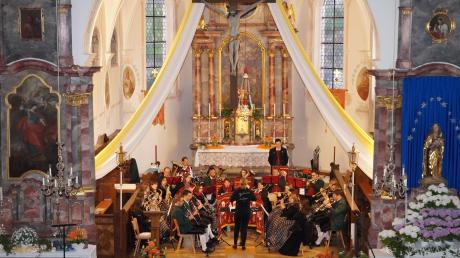 Das Konzert des Musikvereins Aislingen war ein voller Erfolg.
