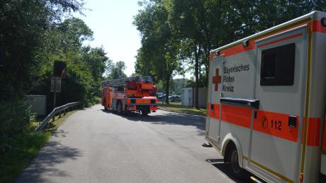 In einem Abfallentsorgungsbetrieb hat es am Mittwochnachmittag gebrannt. Die Einsatzkräfte waren vorsorglich vor Ort. Verletzt wurde niemand, die Mitarbeiter konnten den Brand selbstständig löschen.
