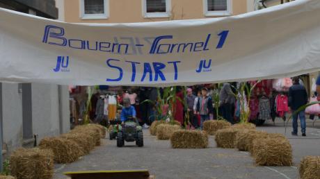 Der Höchstädter Herbstmarkt ließ unter anderem die Herzen von Landwirten und denen, die es vielleicht mal werden wollen, höherschlagen.