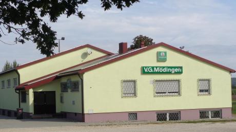 Das Vereinsheim der Vereinsgemeinschaft Mödingen.