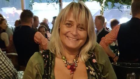 Claudia Staudenecker aus Bachhagel war täglich auf dem Oktoberfest in München.