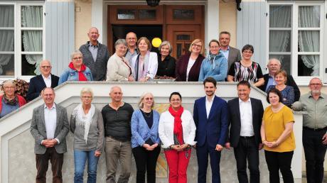 Partnerschaftsbeauftragte aus mehreren Gemeinden – auch weit über den Landkreis hinaus – kamen im Blindheim zusammen und haben ihre Erfahrungen ausgetauscht.