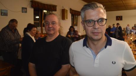 """Michael Audibert (links) und Hubert Mayer wehren sich gegen die Vorwürfe. Zusammen haben sie den Arbeitskreis """"Heimat Nordschwaben"""" gegründet."""