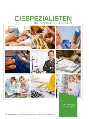 Die Spezialisten im Landkreis Dillingen