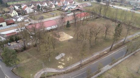 """Der Maxgarten in Gundelfingen soll aufgewertet und zu einem """"Mehr-Generationen-Park"""" werden."""