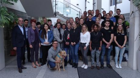 Besonders interessiert haben sich die Schüler für die verschiedenen Berufsbilder der Bundeswehr und die Arbeit als Heilerziehungspfleger.