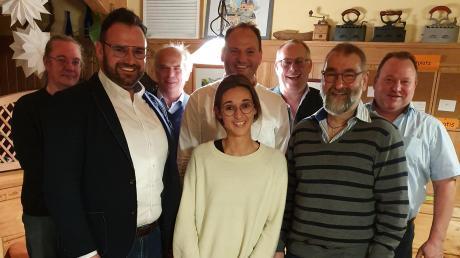 Der Vorstand des neuen Vereins FW BUW: (von links) Michael Audibert, Mario Sodeikat, Wilhelm Gump, Sabrina Walenta, Stephan Stieglauer, Jochen Berchtold, Walter Ritter und Gerhard Kapfer.