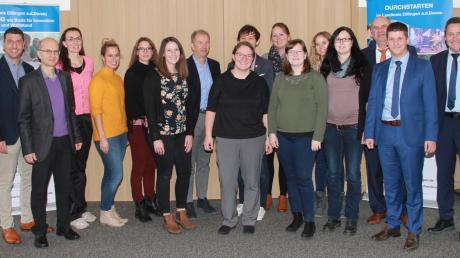 Die Bildungskoordinatoren der schwäbischen Landkreise und kreisfreien Städte trafen sich zur Netzwerkveranstaltung im Landratsamt Dillingen gemeinsam mit der Konferenz zur Schulaufsicht bei der Regierung von Schwaben.