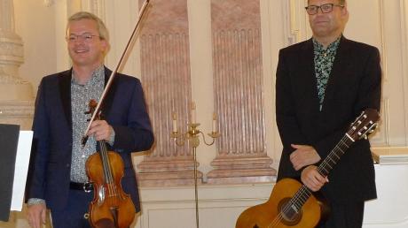 Der Lauinger Violinist Alexander Möck.