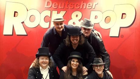 Die Band Jamberry aus dem Landkreis Dillingen hat beim deutschen Rock- und Pop-Preis  acht Preise abgeräumt.