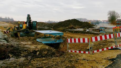 Im neuen Baugebiet Westfeld in Bissingen gibt es künftig eine Kombination aus Hackschnitzel und Erdgas.