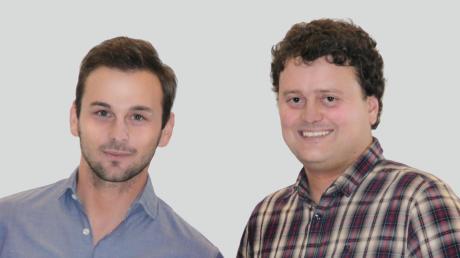 Zwei Unternehmer, die sich zusammentun: Bernhard Dick und Tobias Kerner (rechts).