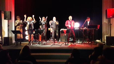 Die Doo Woppers begeisterten bei ihrem Auftritt in Lauingen.