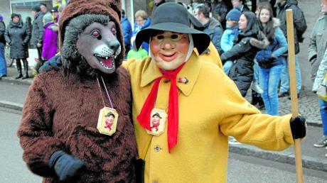 Die Faschingsgesellschaft Hallo Wach feiert 55-jähriges Bestehen. Zum Verein zählen auch die Bärentreiber.