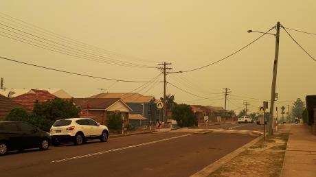 In den Vororten von Sydney, wie hier in Malabar, waren die Auswirkungen der Busch- und Waldbrände vor allem durch die schlechte Luft zu spüren. Besserung brachten die Regenfälle in den vergangenen Tagen.