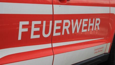 Die Feuerwehr war am Donnerstag in Dillingen im Einsatz.