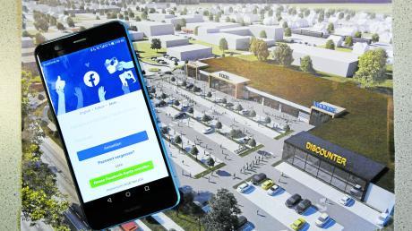 """Die Diskussion über das geplante Einkaufszentrum im Lauinger Osten ist in vollem Gange – auch bei uns auf Facebook. Viele äußern zu dem Vorhaben Bedenken. Einer wünscht sich sogar die """"Lauingen Arkaden"""" anstelle von Lidl, Edeka und dm."""