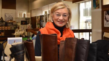 Maria Renner-Jörg war mehr als 50 Jahre für die Kunden im Schuhhaus Jörg in Gundelfingen da. Ende Februar wird sie das Geschäft schließen.