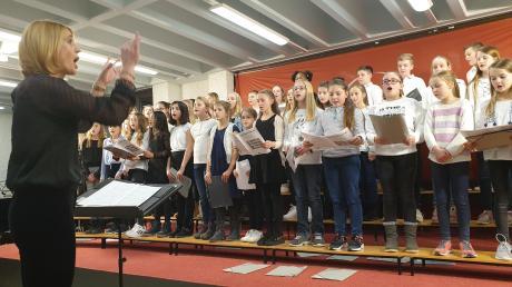 Jazz, Pop und Filmmusik á la James Bond und Mission Impossible gab es beim Winterkonzert des Albertus-Gymnasiums in Lauingen zu hören.