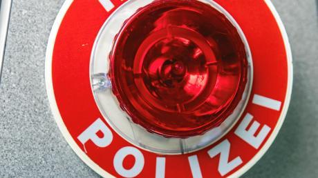 Die Polizei wollte in Höchstädt einen Roller kontrollieren, doch der Fahrer brauste davon.
