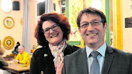 Iris und Jürgen Kopriva freuen sich über das Ergebnis.