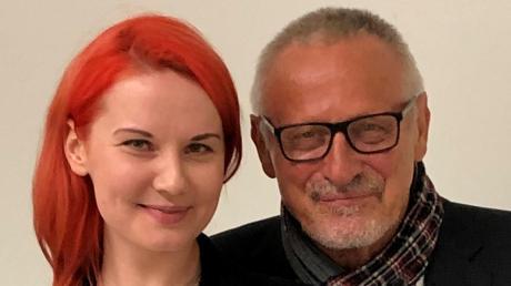 Sarah Straub hat ein Konzert organisiert. Auch Konstantin Wecker wird dabei sein. Das Konzert ist am Freitagabend im Internet zu sehen.