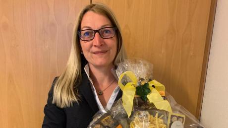 Mirjam Steiner ist die neue Bürgermeisterin von Syrgenstein. Wegen des Coronavirus gab es nur wenige persönliche Gratulanten.