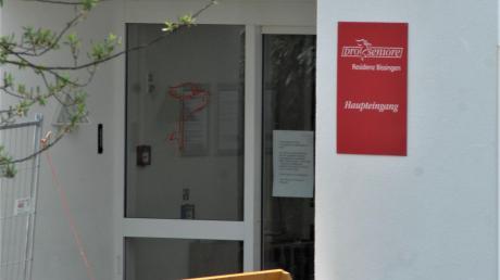 Im Pro Seniore in Bissingen ist wieder ein Senior gestorben.