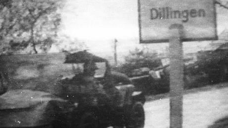 Am frühen Vormittag des 22. April erreichten Vorauskommandos amerikanischer Kampftruppen die Stadt Dillingen.