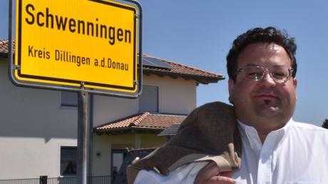 Johannes Ebermayer ist der neue Schwenninger Bürgermeister.