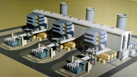 So oder so ähnlich könnte das Gaskraftwerk bei Gundelfingen aussehen.