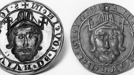 Eine Errungenschaft Adolf Layers: Er bewies den besonderen Wert des ersten Lauinger Stadtsiegels von 1270.