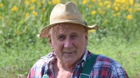 Ein Kämpfer für die Natur: Der Lutzinger Xaver Kerle feierte am  Freitag seinen 75. Geburtstag.