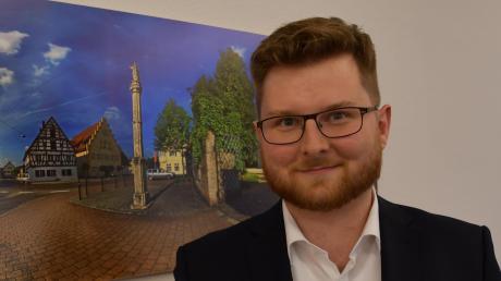 Seit 100 Tagen ist Thomas Reicherzer (SPD) nun im Amt. In Wittislingen, sagt er, konnten schon einige Dinge vorangetrieben werden.
