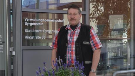 Auch im Ruhestand kommt bei Bernd Steiner, der 36 Jahre lang Bürgermeister von Syrgenstein war, keine Langeweile auf.