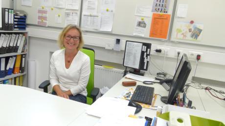 Andrea Rebmann ist die neue Leiterin der Bächinger Grundschule. Sie freut sich auf neue Herausforderungen und das Miteinander in der Schule.