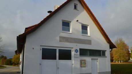 Die Feuerwehr Syrgenstein beantragt ein Gerätehaus für sich.