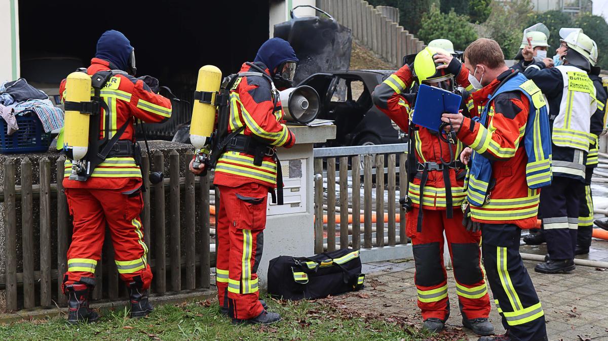 Feuer in Wortelstettener Garage: Polizei verdächtigt Bewohner