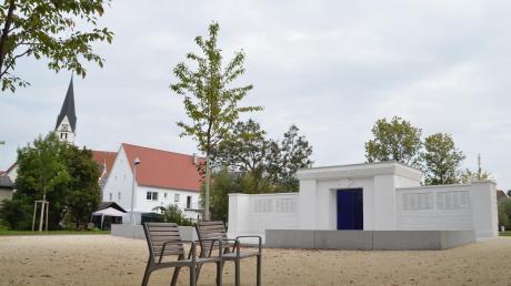 Die westliche Bleicheinsel in Gundelfingen ist neu gestaltet worden. Aus dem ehemaligen Krieger- wurde ein Friedensdenkmal.
