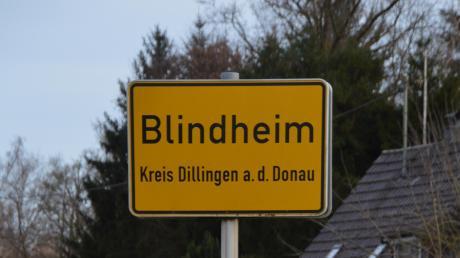 Die Gemeinde Blindheim diskutiert über einen möglichen Supermarkt.